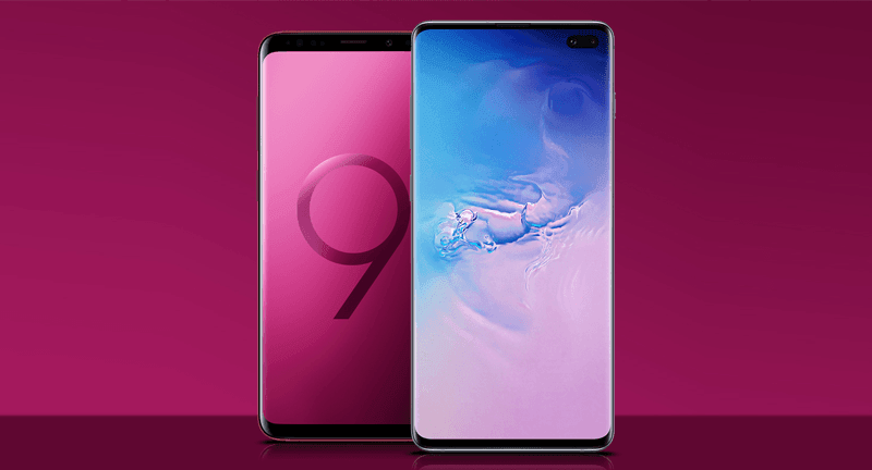 Samsung Galaxy S10 vs S9