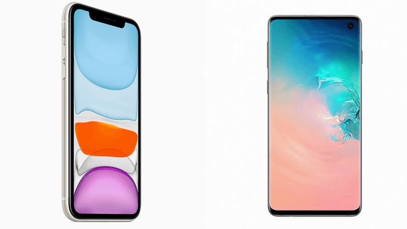 iphone 11 vs galaxy s10