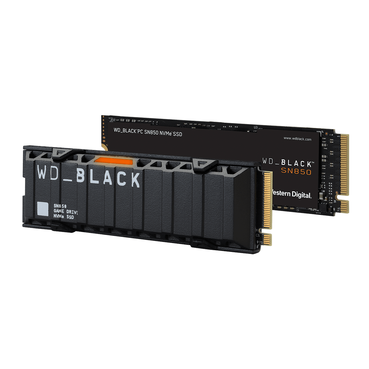 WD Black SN850 NVMe SSD Family